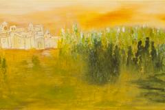 Arrividerci - Acryl on Canvas - 20 x 40 cm