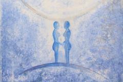 Gemini - Acryl on Canvas - 35 x 35 cm