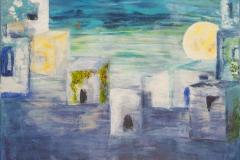 Pancelino - Acryl on Canvas - 40 x 40 cm